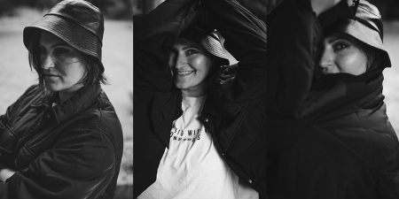 Black and White self portrait